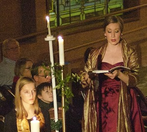 Kathryn Solomon in Messiah by Candlelight
