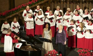 Kristin Lewis, Martha Antolik, Bevan Keating, and the Second Presbyterian Church Choir