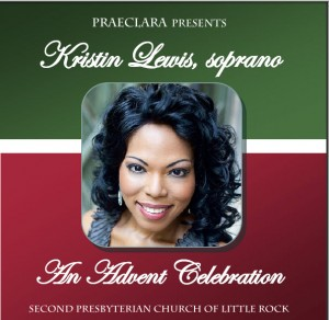 Praeclara presents Kristin Lewis: An Advent Celebration