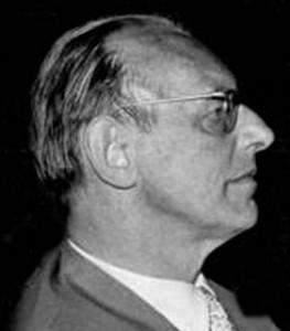 Composer Carl Orff