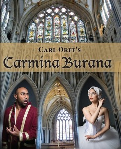 Carmina Burana poster image featuring James Wafford and Emily Karnes