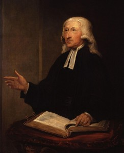Methodism founder John Wesley