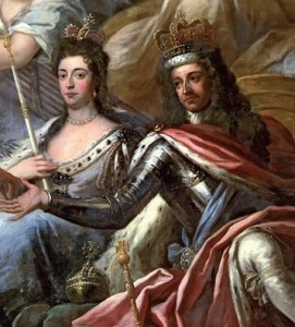 King William and Queen Mary of England