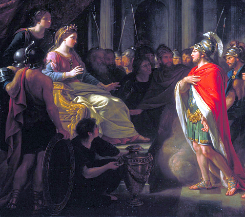 the significance of the roles of dido and turnus in the aeneid Virgil aeneid uploaded by lastoic related 19 bki:372-417 she directs him to dido's in his sleep, we prayed to the great gods, and our roles fixed.