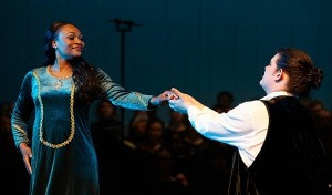Satia Spencer and Luke Angelo in Carmina Burana