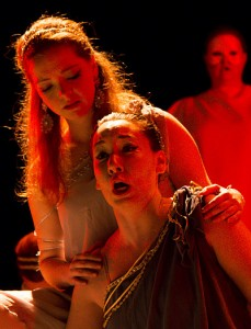 Kelly Singer and Kathryne Overturf in Dido and Aeneas