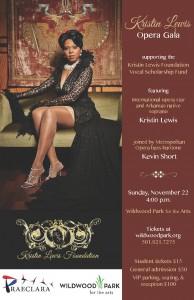 Kristin Lewis Opera Gala poster