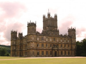 Highclere Castle, also known as Downton Abbey
