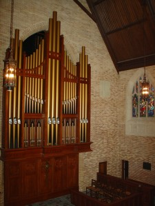 First Presbyterian organ pipes