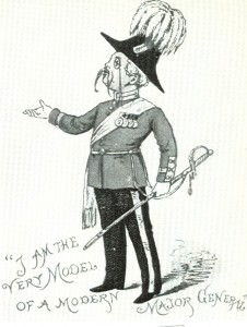 A drawing of Major General Stanley
