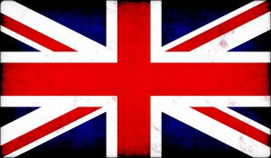 A Union Jack British flag
