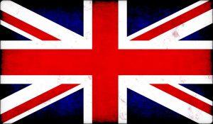 A Union Jack British flag