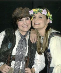 Melissa Thoma as Hansel with Kira Keating as Gretel